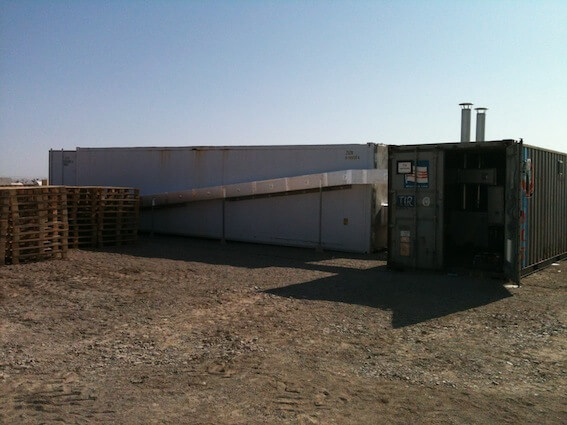 ISPM15 Heat Treatment Kiln